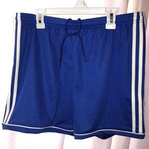 Adidas climalite running shorts in Royal Blue sz M